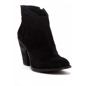 Jessica Simpson Maxi Suede Ankle Boot Size 7M